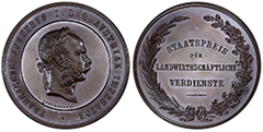 ND (1874)  Austria Medal SP65