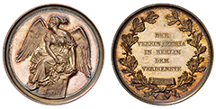 1875, Germany, Medal,  NGC MS65