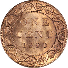 1900 -H One Cent MS64 RD